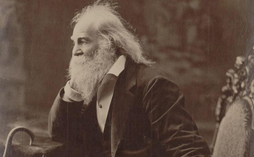 """One's-Self I Sing"" by Walt Whitman (1819 – 1892)"